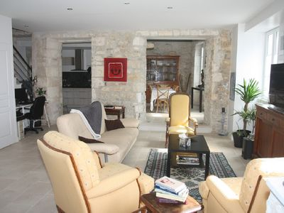 Photo for TOWN HOUSE IN THE HEART ST PIERRE OLERON - ANY COMFORT - 10 MIN FROM BEACHES