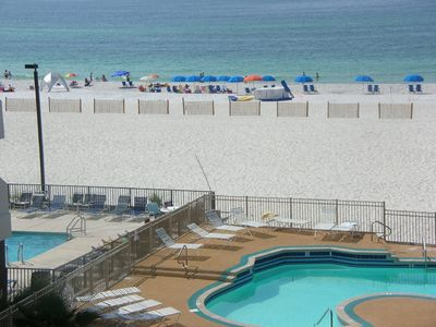 Photo for Nicely decorated condo/view of the Gulf of Mexico!!