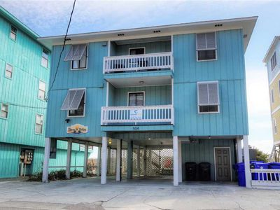Photo for Shore To Relax Lower: 3 BR / 2 BA duplex - 1 side in Carolina Beach, Sleeps 10