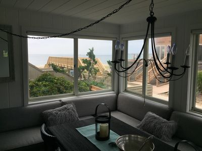 Photo for Steps to beach. Ocean views. Newly renovated. Bright, open floor plan.