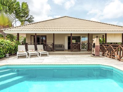 Modern Villa in Jan Thiel Curacao with Private Pool