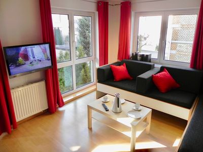 """Photo for Apartment """"Möttelin"""", 2 rooms, incl. WLAN, balcony, garage space (optional)"""