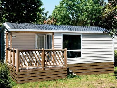 Photo for Camping Domaine de la Paille Low - Mobile Home 3 Rooms 4 People