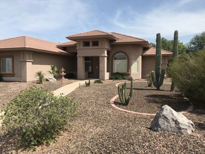 Photo for Large Upscale Vacation Home in Coyote Ranch with Private Pool and RV parking