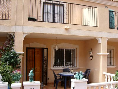 Photo for Comfortable 3 storey townhouse within walking distance to La Zenia shops