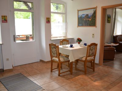 Photo for Quiet apartment in Bad Schandau at the gateway to Kirnitzschtal about 10 minutes to Mark