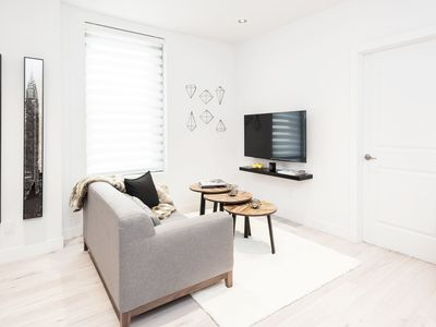 Photo for Modern furnished apartment close to St Catherine street and McGill Campus