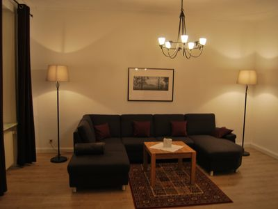 Photo for Charm. Stadtfewo, 5 Stars, 2-5 Pers. 120sqm, 2 bedrooms., 2 bathrooms, Dachterr. W-lan