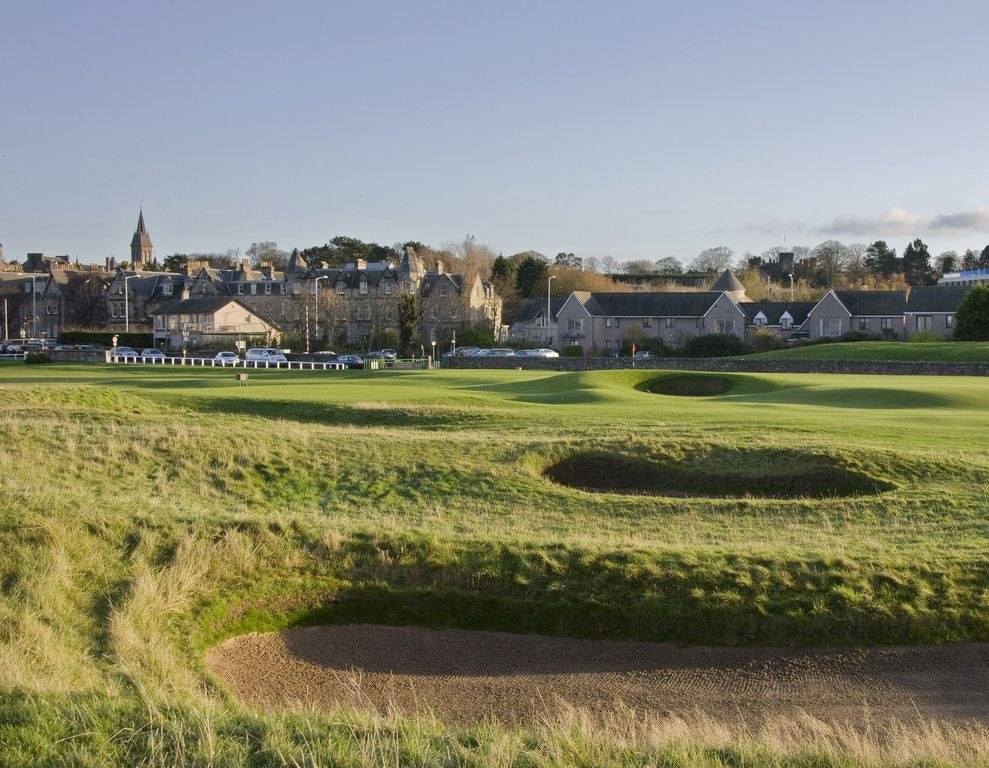 1 Links Crescent 5 étoiles Selfc Catering House donnant sur Old Course à St Andrews