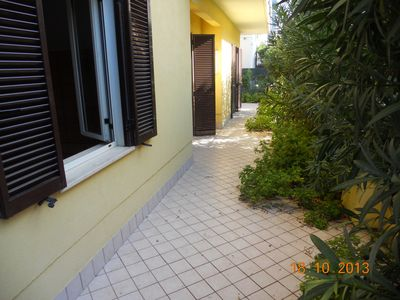Photo for App. Oleandro - A comfortable apartment in the pine forest area a few steps from the sea