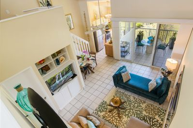 Amazing Floor Plan ~ View from the Upstairs Loft