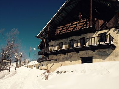 Photo for Mountain Chalet, Val di Thures, Cesana Torinese