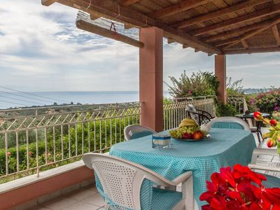 Photo for Country house with panoramic view and beach access
