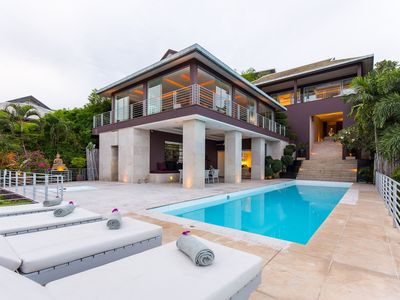 Photo for [HOT DEAL] Hillside Luxury Villa with Private Pool & Jacuzzi