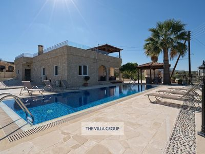 Photo for Argaka Villa, Sleeps 6 with Pool, Air Con and WiFi