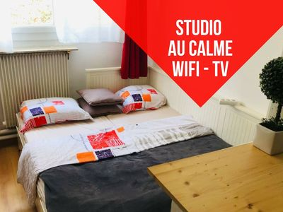 Photo for Independent studio - Fully equipped - 20 MIN FROM PARIS