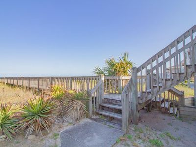 Photo for Ocean Mist - Oceanfront, Pet-friendly, Great location in Kure Beach!