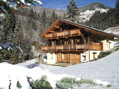 Photo for Traditional 4-star comfort chalet for 10 people with SPA