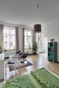 Photo for Apartment in the Karl-Liebknecht-Straße, directly in the trendy district