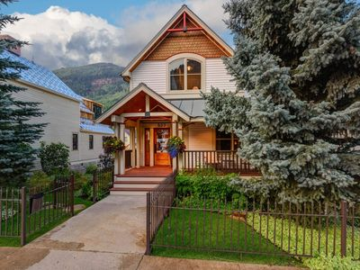 Photo for Elegant, contemporary Telluride home with hot tub, mountain views, and separate guest house: Vermilion Peaks