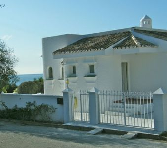 Photo for Beautiful Detached Villa With Private Heated Pool, Air-Con, WiFi, and Games Room