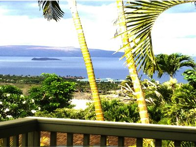 Photo for Ocean View Private Romantic Cottage above Wailea