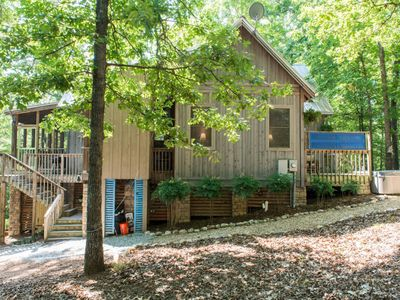 Photo for Cozy Cabin On Lake Martin With Boat Dock!