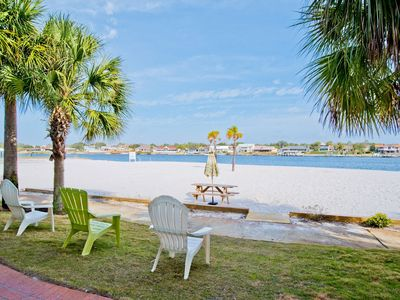 Photo for BEACH FRONT PARADISE - 4 bedroom - Gated Community - witih Opt. 30 ft Boat Slip