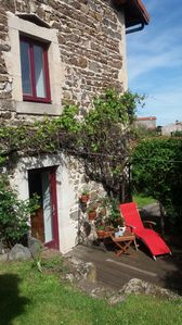 Photo for Character stone house in a small village near the Puy en Velay