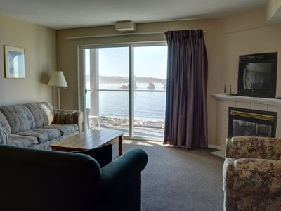 Photo for Enjoy this 2nd floor condo with amazing views of the coast in Lincoln City!