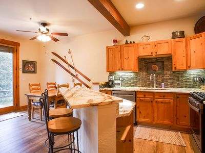 Photo for ** Newly Remodeled ** Condo in the Woods, On Resort Shuttle, close to River Run!