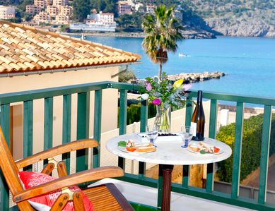Photo for Bright and charming apartment on the beach of Port de Sóller