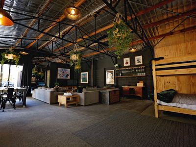 Photo for 'THE SHED' Luxury warehouse in the heart of Healesville and the Yarra Valley