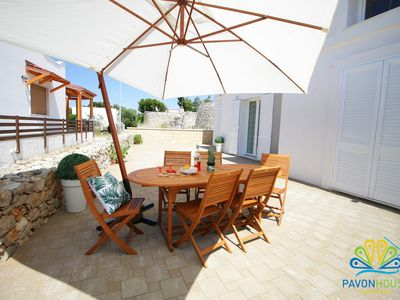 Photo for Pavon House Blue -Villetta 80 meters from the sea, 3 km from Torre San Giovanni beaches