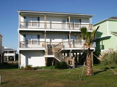 Photo for A House At The Beach - Directly on the Canal with Fantastic Ocean, Waterway & Marsh Views!