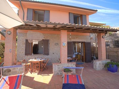 Photo for CASA MARGOT (RELAX WITH VISTA), independent, 300mt from the sea and the beach