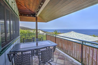 Explore the islands of Hawaii from this vacation rental, 'Anji's Beach House.'
