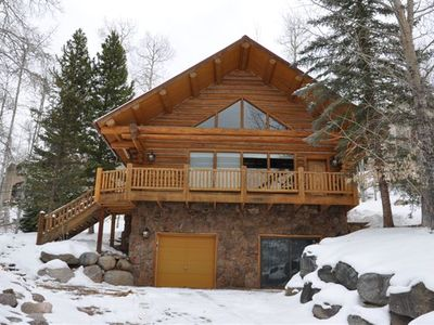 Photo for Log Home Overlooking Vail Valley