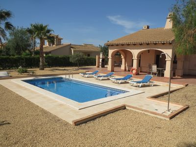 Photo for Spacious, well appointed, detached Villa With Private Pool On Golf Resort