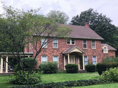 Photo for Elegant, spacious, circa 1925 brick home in a private setting
