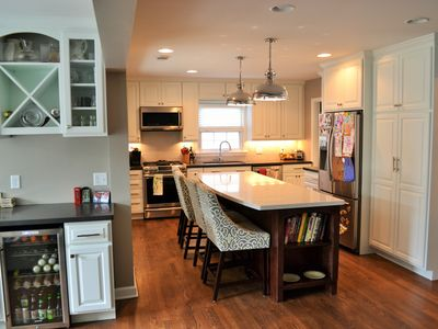 Milwaukee North Shore; 4 bed,3 bath, outdoor fire pit, basement stadium seating