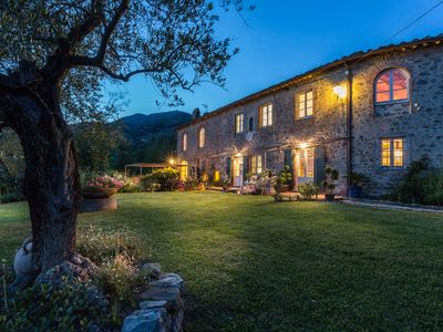 Photo for 7 Bedrooms Luxury Farmhouse in LUCCA, Outdoor and Indoor Heated Swimming Pools
