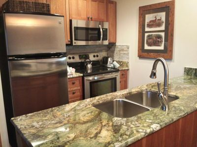 New Atlas Granite from Brazil with new appliances