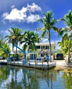 Photo for PRIVATE WATERFRONT HOME and DOCK next to JOHN PENNEKAMP CORAL REEF PARK