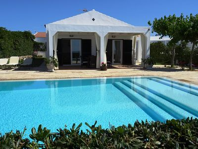 Photo for Beautiful villa in first line sea with fantastic pool of 60m2
