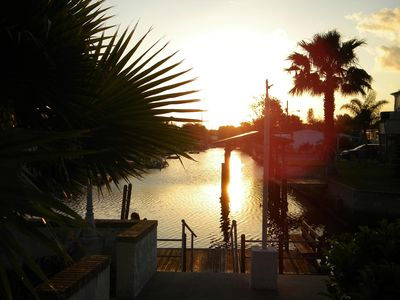 Photo for Paradise Palms - Relaxing Waterfront Home With Direct Gulf Access And Dock.
