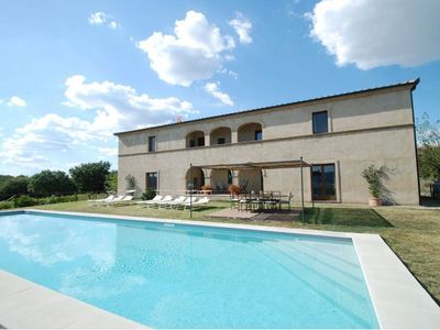 Photo for Villa sleeps 10 with private garden and pool.
