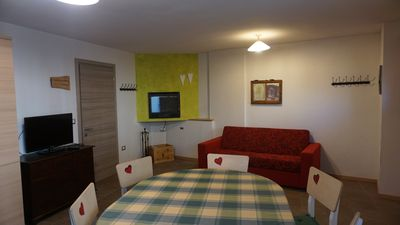Photo for Dossiglio chalet near the ski slopes and a short walk from the center