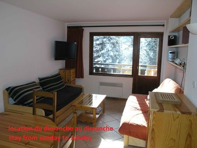Photo for Meribel-Mottaret Apartment 4 persons directly on the ski-wifi