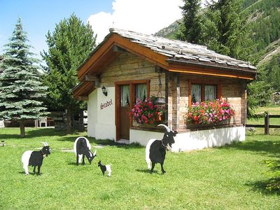 Photo for House 324 m from the center of Saas-Grund with Parking, Internet, Washing machine (301191)